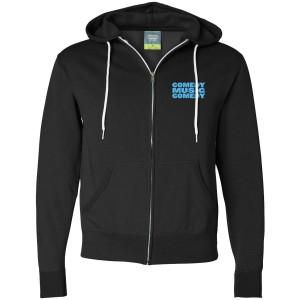 Unisex Logo Zip Hoodie