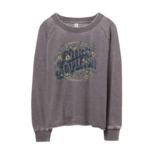 Ladies Flower Sweatshirt