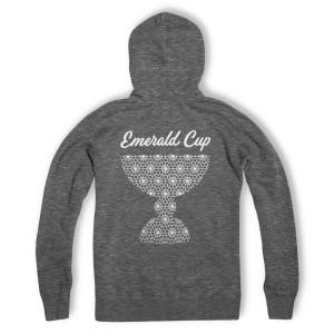 Emerald Cup Organic Grey Hoodie