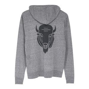 Buffalo Full Zip Light Hoodie