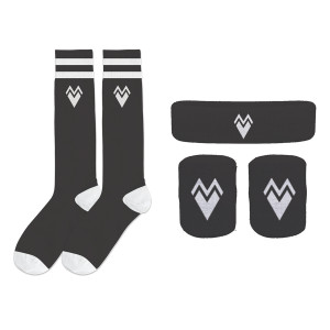 Sock + Headband + Wristband Set