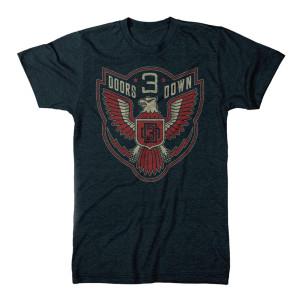 3 Doors Down Eagle Emblem T-Shirt