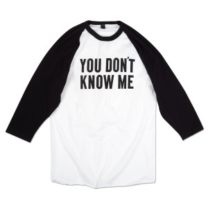 Ben Folds You Don't Know Me Raglan