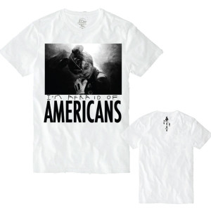 BONES I'm Afraid Of Americans Tee