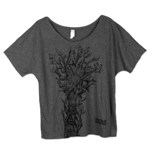 Bottle Rock Napa Valley Bella Flowy Simple T-Shirt