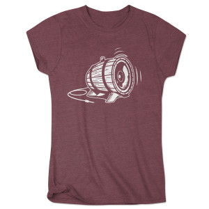 Bottle Rock Women's 2015 Festival Tee - Maroon