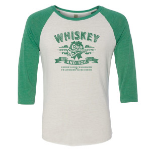 The Whiskey and You Raglan
