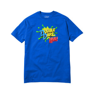 Double Dare Live Fall 2018 Tour Tee - Blue