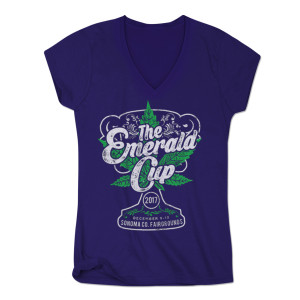 2017 Emerald Cup Event Shirt - Ladies