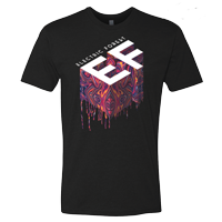 Electric Forest Acid Drip Tee