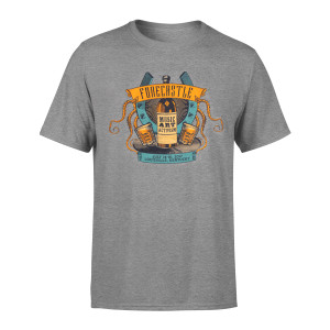 Forecastle Grey Bottle Tee
