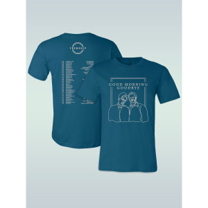 FRENSHIP 2018 TOUR TEE - TEAL