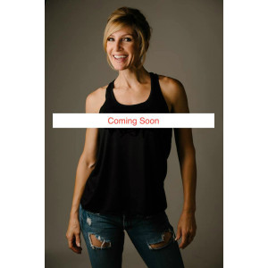 This Is Fifty Flowy Racerback Tank