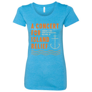 Concert for Island Relief Women's Anchor T-Shirt