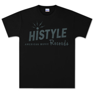 """JD McPherson """"Histyle American Music Records"""" T-Shirt"""