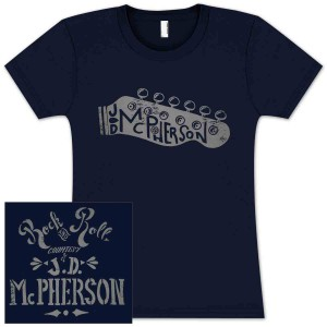JD McPherson Rock and Roll Ladies T-Shirt