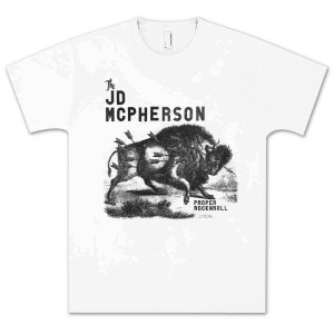 JD McPherson Bison T-Shirt