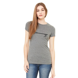 JF Key Heather Grey Women's Tee