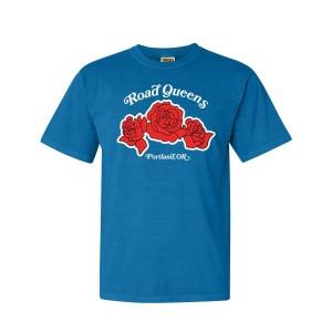 Road Queens Roses Tee