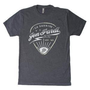 Guitar Pick T-Shirt - Gray