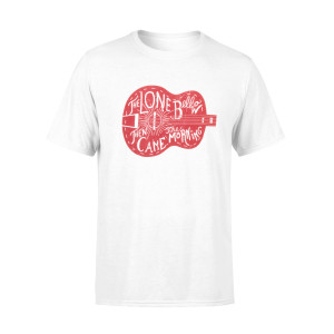 The Lone Bellow Red Guitar Tee