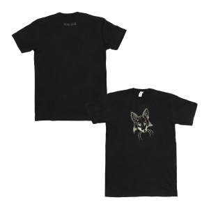 Fox Face Tee  - Mens