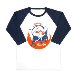 Greyhound Raglan