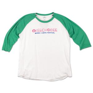 Okeechobee Raglan - Green
