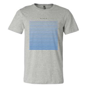 River T-Shirt - Grey
