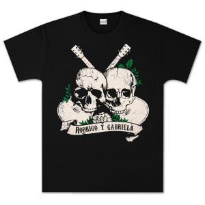 Rodrigo y Gabriela Skulls T-Shirt