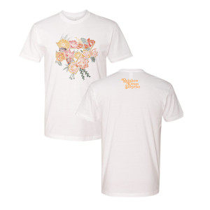 Floral Triangle Tee