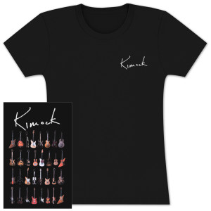 Steve Kimock Signature Guitar Ladies T-Shirt