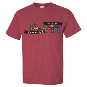 TajMo Heather Cardinal Flag 2017 Tour Tee