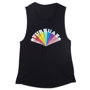 Colorburst Muscle Tank