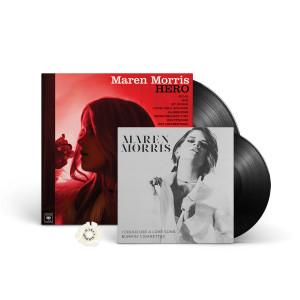 Maren Morris Love Song Vinyl, Hero LP & Glow in the Dark 45rpm Adapter