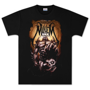 Mayhem 2012 Beast Black T-Shirt