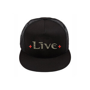 LIVE Black Trucker Hat