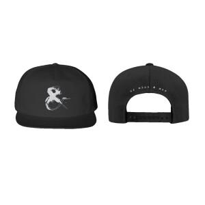 Ampersand Black Snapback Hat