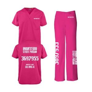 Industry Baby Hot Pink Scrub Set