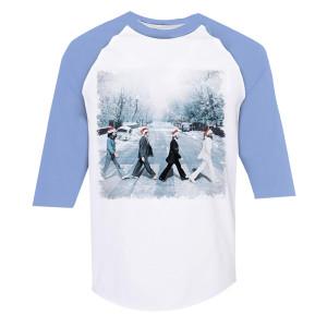 Snowy Abbey Road Raglan
