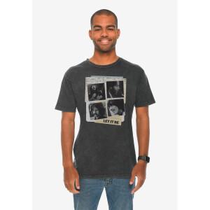 Let It Be Vintage Black T-Shirt
