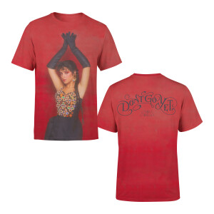 Don't Go Yet Art Red T-Shirt