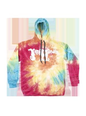 Authentic Tie-Dye Swirl Hoodie
