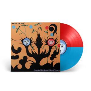 "Crystal Bullets B/W King Tears (Ltd. Edition Red/Blue) 12"" Vinyl LP"