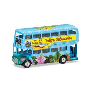 Yellow Submarine London Bus