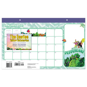 Yellow Submarine 2021 Deskpad Calendar