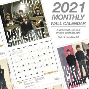 Beatlemania 2021 Calendar Set – Collector's Edition