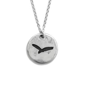 Pennyroyal Blackbird Silver Necklace