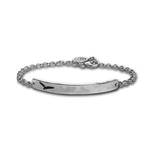 Blackbird Silver Chain Bracelet
