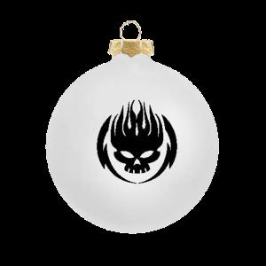 Black on White Ornament